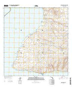 Ilio Point Hawaii Current topographic map, 1:24000 scale, 7.5 X 7.5 Minute, Year 2013 from Hawaii Map Store