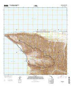 Kaena Hawaii Current topographic map, 1:24000 scale, 7.5 X 7.5 Minute, Year 2013 from Hawaii Map Store