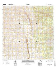 Kahuku Ranch Hawaii Current topographic map, 1:24000 scale, 7.5 X 7.5 Minute, Year 2013 from Hawaii Maps Store