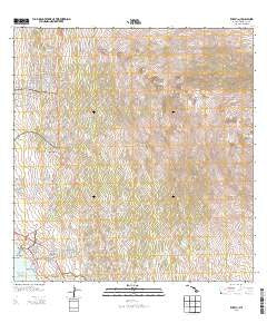 Kailua Hawaii Historical topographic map, 1:24000 scale, 7.5 X 7.5 Minute, Year 2013