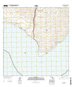 Kalae Hawaii Current topographic map, 1:24000 scale, 7.5 X 7.5 Minute, Year 2013 from Hawaii Map Store