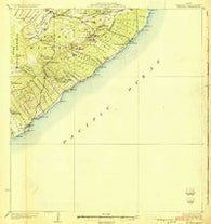 Kalapana Hawaii Historical topographic map, 1:62500 scale, 15 X 15 Minute, Year 1924