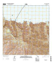 Kamalo Hawaii Current topographic map, 1:24000 scale, 7.5 X 7.5 Minute, Year 2013 from Hawaii Maps Store