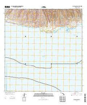 Kamalo OE S Hawaii Current topographic map, 1:24000 scale, 7.5 X 7.5 Minute, Year 2013 from Hawaii Maps Store