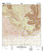 Kamuela Hawaii Current topographic map, 1:24000 scale, 7.5 X 7.5 Minute, Year 2013 from Hawaii Map Store