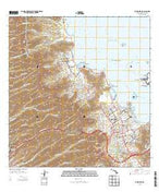 Kaneohe Hawaii Current topographic map, 1:24000 scale, 7.5 X 7.5 Minute, Year 2013 from Hawaii Map Store