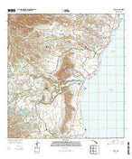 Kapaa Hawaii Current topographic map, 1:24000 scale, 7.5 X 7.5 Minute, Year 2013 from Hawaii Map Store