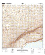 Kau Desert Hawaii Current topographic map, 1:24000 scale, 7.5 X 7.5 Minute, Year 2013 from Hawaii Map Store