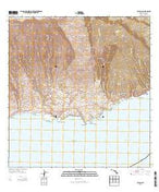 Kaupo Hawaii Current topographic map, 1:24000 scale, 7.5 X 7.5 Minute, Year 2013 from Hawaii Map Store