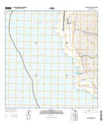 Keahole Point Hawaii Current topographic map, 1:24000 scale, 7.5 X 7.5 Minute, Year 2013 from Hawaii Map Store
