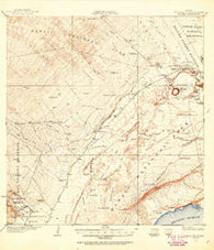 Kilauea Hawaii Historical topographic map, 1:62500 scale, 15 X 15 Minute, Year 1921