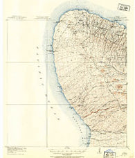 Kohala Hawaii Historical topographic map, 1:62500 scale, 15 X 15 Minute, Year 1913