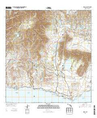 Koloa Hawaii Historical topographic map, 1:24000 scale, 7.5 X 7.5 Minute, Year 2013