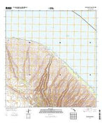 Lanai North Hawaii Current topographic map, 1:24000 scale, 7.5 X 7.5 Minute, Year 2013 from Hawaii Map Store