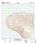 Lanai North OE W Hawaii Current topographic map, 1:24000 scale, 7.5 X 7.5 Minute, Year 2013 from Hawaii Map Store