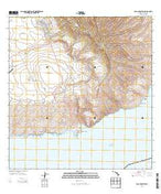 Lanai South Hawaii Current topographic map, 1:24000 scale, 7.5 X 7.5 Minute, Year 2013 from Hawaii Map Store