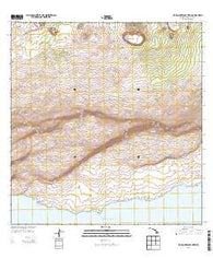 Makaopuhi Crater Hawaii Historical topographic map, 1:24000 scale, 7.5 X 7.5 Minute, Year 2013