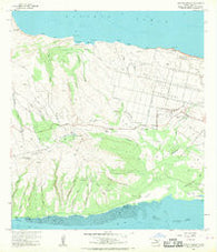 Molokai Airport Hawaii Historical topographic map, 1:24000 scale, 7.5 X 7.5 Minute, Year 1968