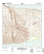 Molokai Airport Hawaii Current topographic map, 1:24000 scale, 7.5 X 7.5 Minute, Year 2013 from Hawaii Map Store