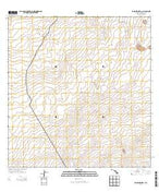 Naohuleelua Hawaii Current topographic map, 1:24000 scale, 7.5 X 7.5 Minute, Year 2013 from Hawaii Map Store