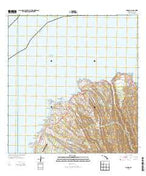 Napili Hawaii Current topographic map, 1:24000 scale, 7.5 X 7.5 Minute, Year 2013 from Hawaii Map Store