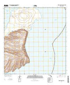 Niihau North Hawaii Current topographic map, 1:24000 scale, 7.5 X 7.5 Minute, Year 2013 from Hawaii Map Store