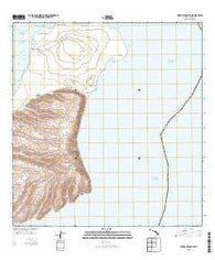 Niihau North Hawaii Historical topographic map, 1:24000 scale, 7.5 X 7.5 Minute, Year 2013