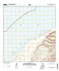 Niihau North OE W Hawaii Historical topographic map, 1:24000 scale, 7.5 X 7.5 Minute, Year 2013