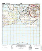 Pearl Harbor Hawaii Current topographic map, 1:24000 scale, 7.5 X 7.5 Minute, Year 2013 from Hawaii Map Store