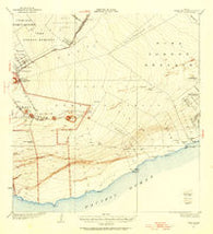 Puna Hawaii Historical topographic map, 1:62500 scale, 15 X 15 Minute, Year 1922