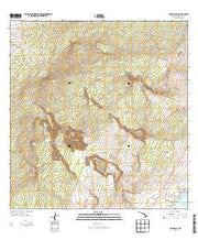 Punaluu Hawaii Current topographic map, 1:24000 scale, 7.5 X 7.5 Minute, Year 2013 from Hawaii Maps Store