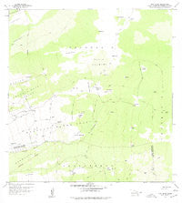 Puu Lehua Hawaii Historical topographic map, 1:24000 scale, 7.5 X 7.5 Minute, Year 1959