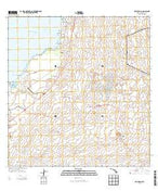Puu Hinai Hawaii Current topographic map, 1:24000 scale, 7.5 X 7.5 Minute, Year 2013 from Hawaii Map Store