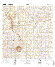 Puuanahulu Hawaii Current topographic map, 1:24000 scale, 7.5 X 7.5 Minute, Year 2013 from Hawaii Maps Store
