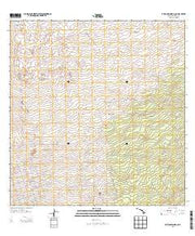 Puuokeokeo Hawaii Current topographic map, 1:24000 scale, 7.5 X 7.5 Minute, Year 2013 from Hawaii Maps Store
