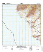 Waianae Hawaii Current topographic map, 1:24000 scale, 7.5 X 7.5 Minute, Year 2013 from Hawaii Map Store