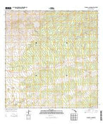 Waikoloa Ponds Hawaii Current topographic map, 1:24000 scale, 7.5 X 7.5 Minute, Year 2013 from Hawaii Map Store