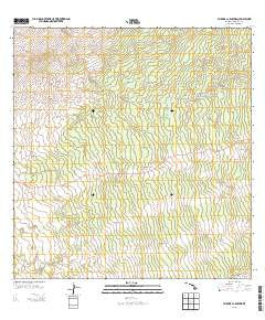 Waikoloa Ponds Hawaii Historical topographic map, 1:24000 scale, 7.5 X 7.5 Minute, Year 2013