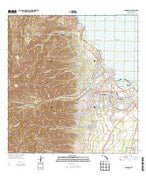 Wailuku Hawaii Current topographic map, 1:24000 scale, 7.5 X 7.5 Minute, Year 2013 from Hawaii Map Store