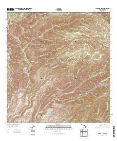 Waimea Canyon Hawaii Historical topographic map, 1:24000 scale, 7.5 X 7.5 Minute, Year 2013