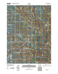 Abingdon Iowa Historical topographic map, 1:24000 scale, 7.5 X 7.5 Minute, Year 2010