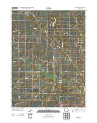 Abingdon Iowa Historical topographic map, 1:24000 scale, 7.5 X 7.5 Minute, Year 2013
