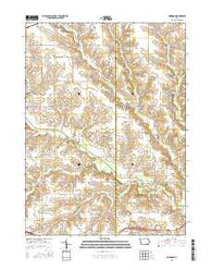 Abingdon Iowa Current topographic map, 1:24000 scale, 7.5 X 7.5 Minute, Year 2015