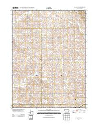 Adair North Iowa Historical topographic map, 1:24000 scale, 7.5 X 7.5 Minute, Year 2013