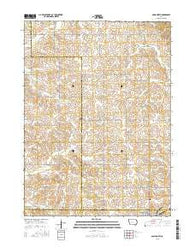 Adair North Iowa Current topographic map, 1:24000 scale, 7.5 X 7.5 Minute, Year 2015