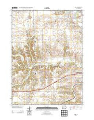 Adel Iowa Historical topographic map, 1:24000 scale, 7.5 X 7.5 Minute, Year 2013