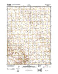Adel NW Iowa Historical topographic map, 1:24000 scale, 7.5 X 7.5 Minute, Year 2013