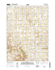 Adel NW Iowa Current topographic map, 1:24000 scale, 7.5 X 7.5 Minute, Year 2015