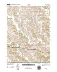 Afton Iowa Historical topographic map, 1:24000 scale, 7.5 X 7.5 Minute, Year 2013
