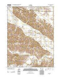 Agency Iowa Historical topographic map, 1:24000 scale, 7.5 X 7.5 Minute, Year 2013